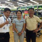 ゴルフを通じて急成長する畑岡奈紗選手とご両親。僕は今まで通り応援しています